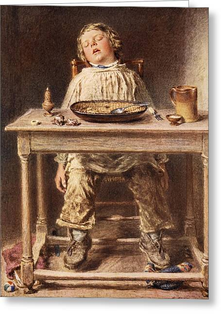 The Defeat, 1834 Greeting Card by William Henry Hunt