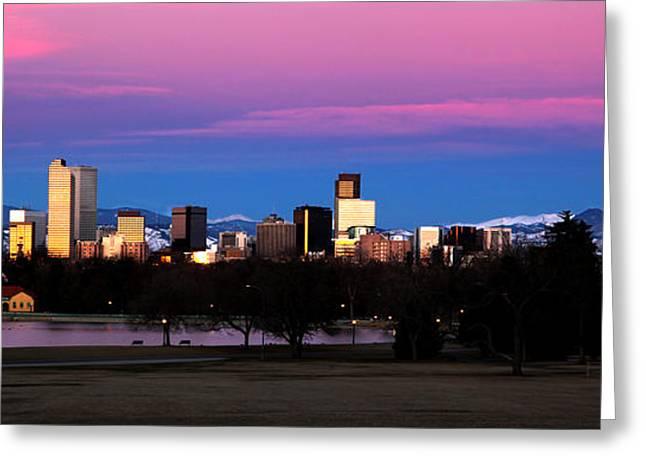 The Denver Skyline Greeting Card