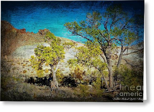 The Desert Greeting Card by Bobbee Rickard