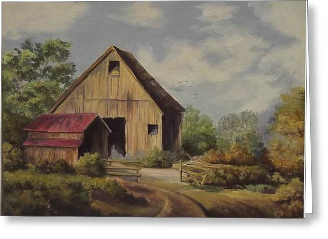 The Deserted Barn Greeting Card