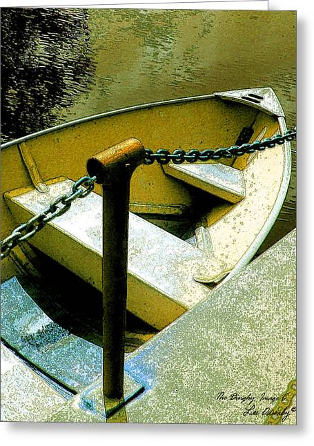 The Dinghy Image C Greeting Card