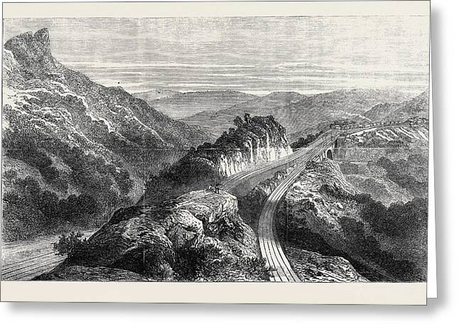 The Disaster On The Great Indian Peninsula Railway Greeting Card by Indian School