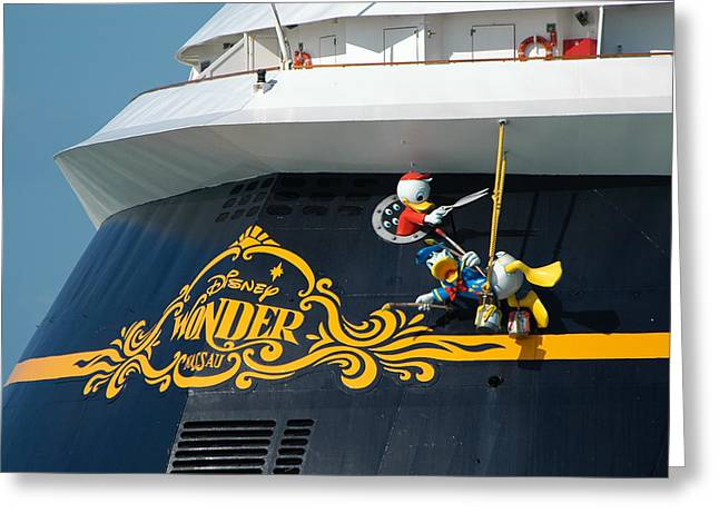 The Disney Wonder Greeting Card