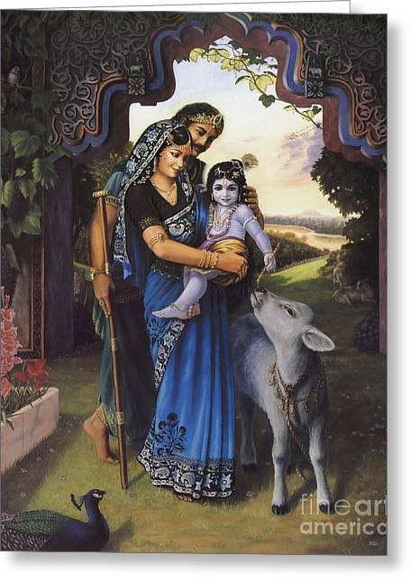 The Divine Family Greeting Card
