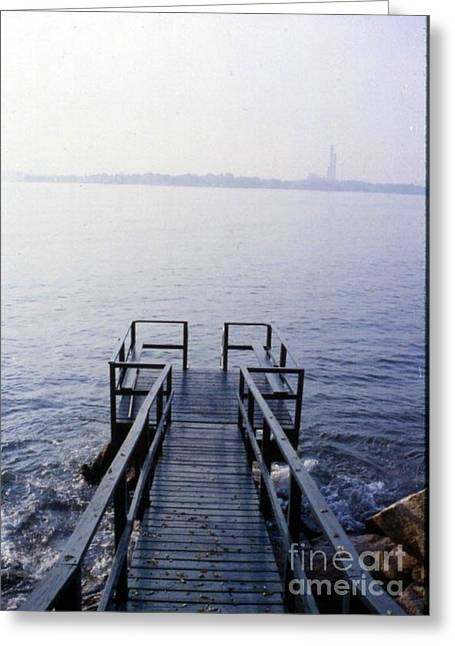 The Dock In The Bay Greeting Card