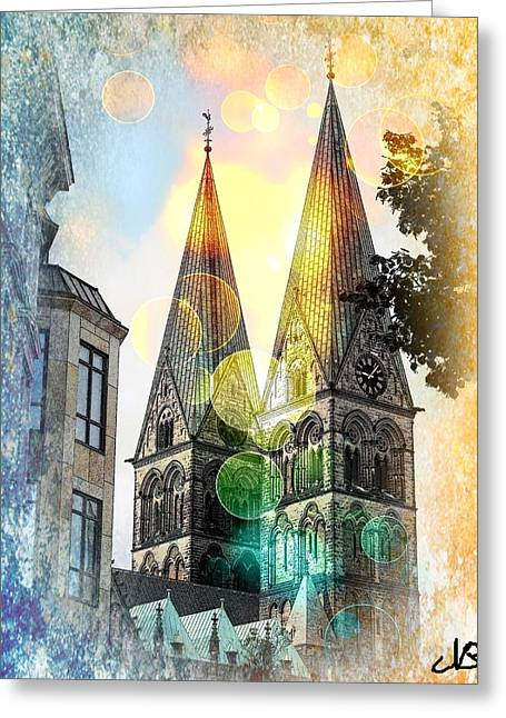 Greeting Card featuring the photograph The Dom  by Nico Bielow