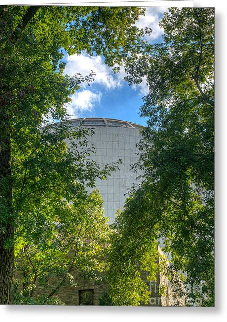 The Dome Greeting Card by Mark Dodd