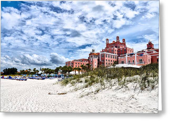 The Don Cesar Hotel Greeting Card by Bill Cannon