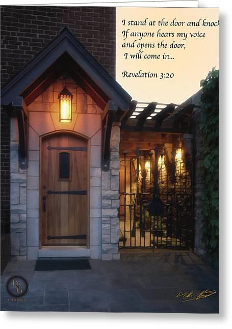 The Door Greeting Card