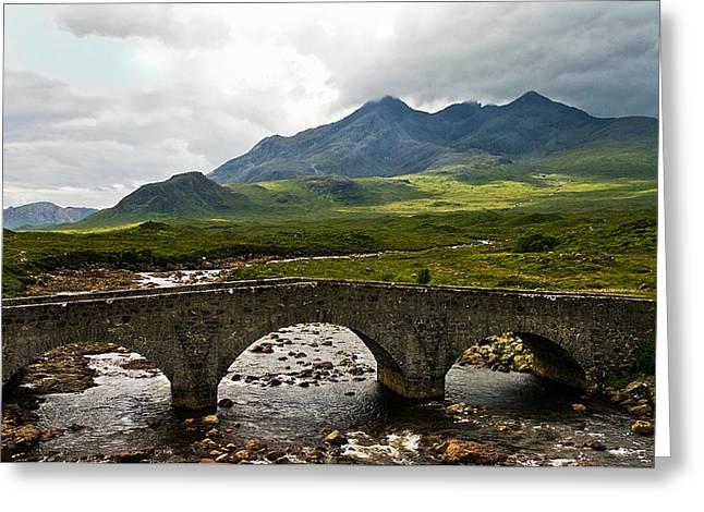 The Dramatic Isle Of Skye Greeting Card by Jacqi Elmslie