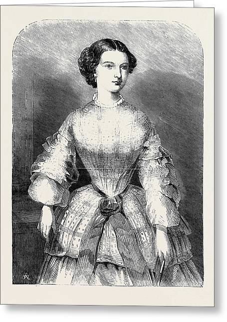 The Duchess Of Calabria Greeting Card by English School