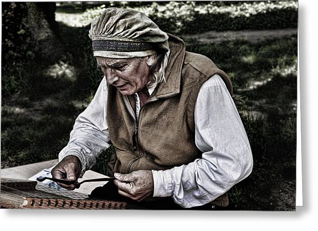 The Dulcimer Man Greeting Card