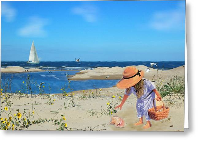 Greeting Card featuring the photograph The Dunes by Mary Timman