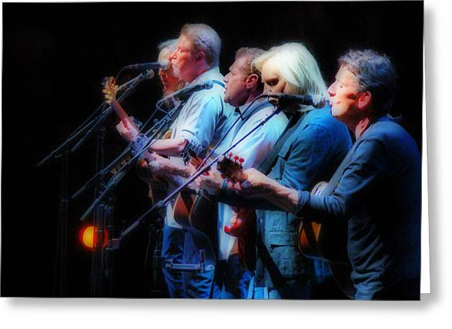 The Eagles Inline Greeting Card