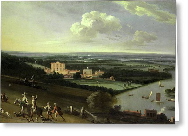 The Earl Of Rochesters House, New Park, Richmond Greeting Card by Litz Collection