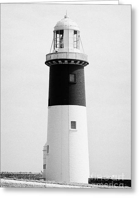 The East Light Lighthouse Altacarry Altacorry Head Rathlin Island Northern Ireland Greeting Card by Joe Fox