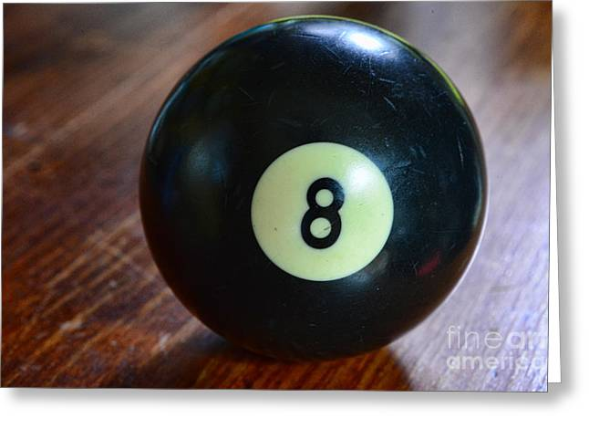 The Eight Ball Greeting Card