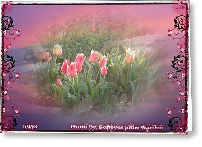 The Elagance Of Spring Greeting Card