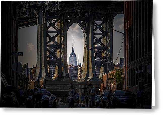 The Empire State  Greeting Card by Anthony Fields