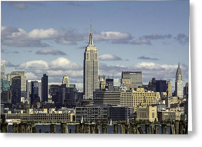 The Empire State Building 2 Greeting Card
