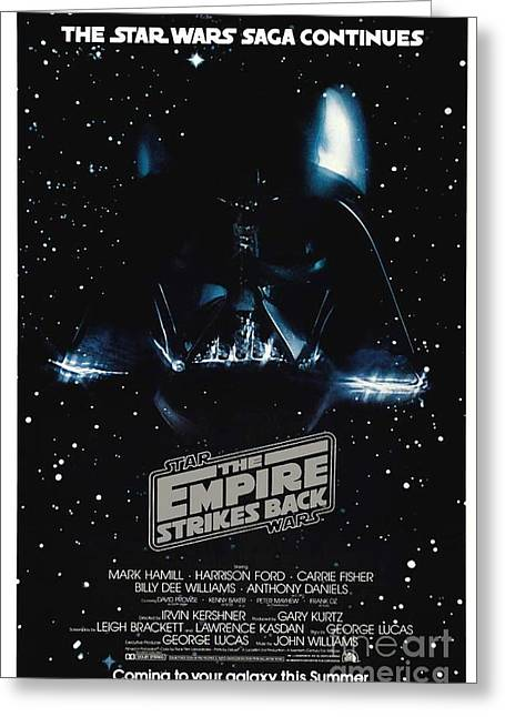 The Empire Stikes Back Greeting Card by Baltzgar