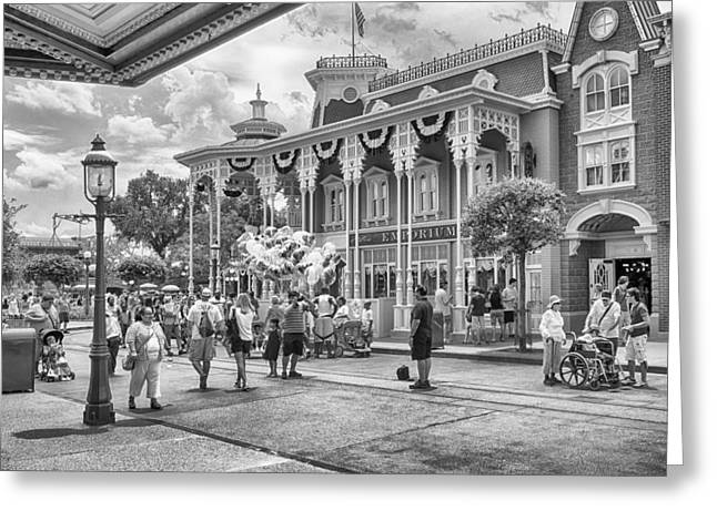 Greeting Card featuring the photograph The Emporium by Howard Salmon