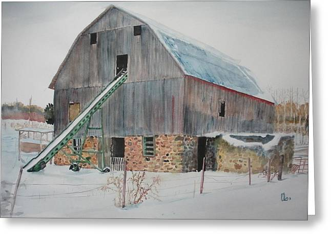 The Enchanted Barn Greeting Card