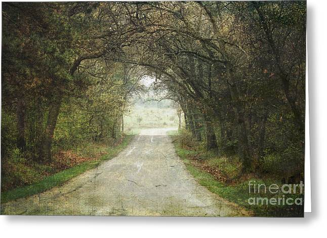 The Enchanted Corner Greeting Card by Keith Bell