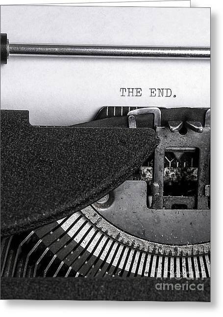 The End Greeting Card