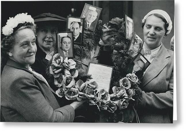 The End Of Rationing In Britain. Housewives Present The Greeting Card by Retro Images Archive