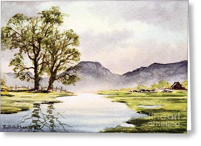The English Lake District Greeting Card