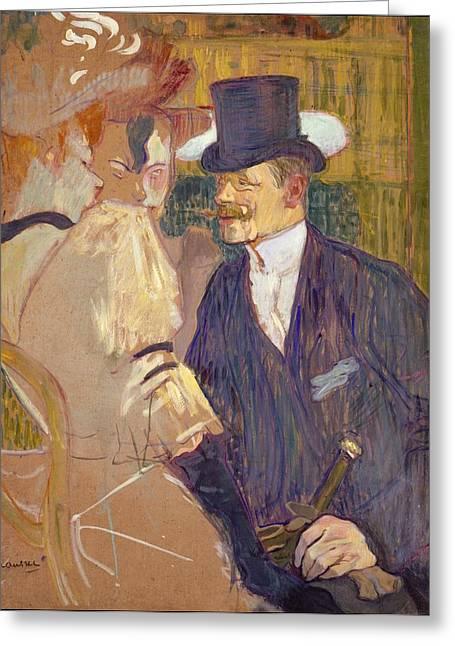 The Englishman William Tom Warrener Greeting Card