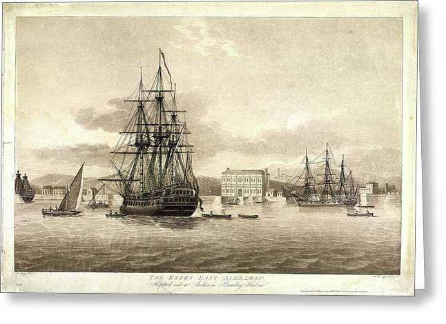 The Essex East Indiaman Greeting Card