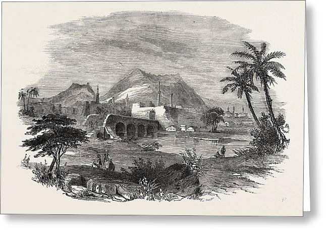 The Euphrates Valley Route To India Antioch Greeting Card by English School