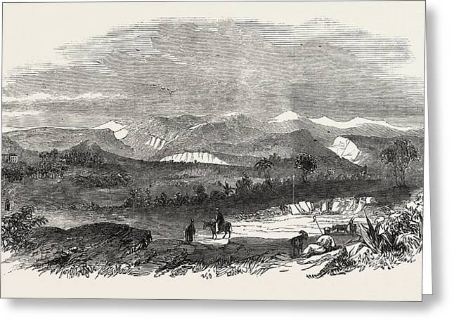 The Euphrates Valley Route To India The Valley Of Suediah Greeting Card by English School