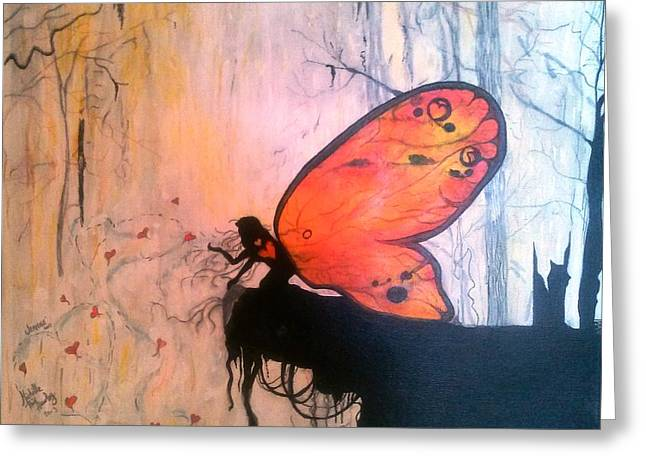 The Everlasting Butterfly Greeting Card by Michelle and Jeanne Reid
