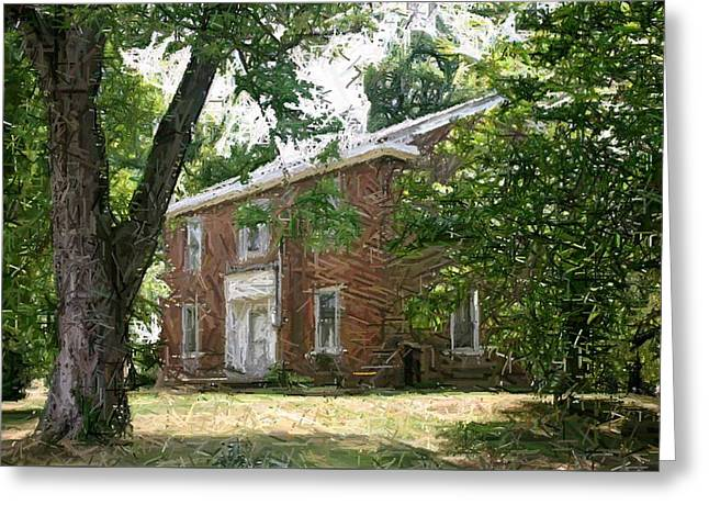 The Ewing Female Institute - Perryville Ky Greeting Card