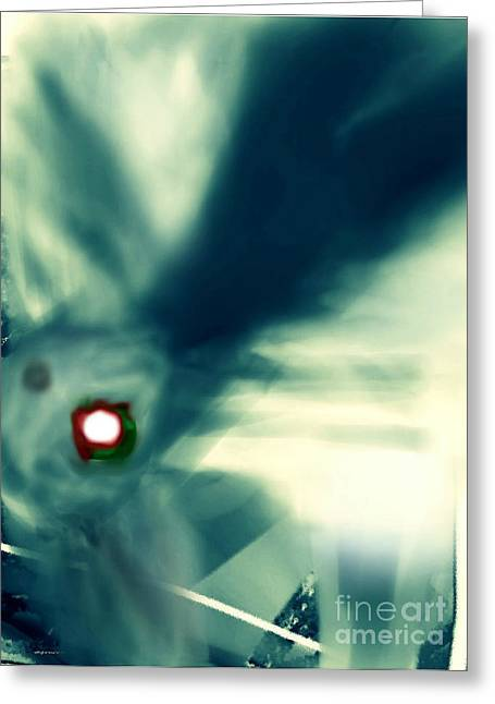 The Eye Of The Storm Greeting Card by Rc Rcd