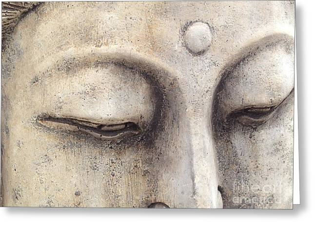 The Eyes Of Buddah Greeting Card