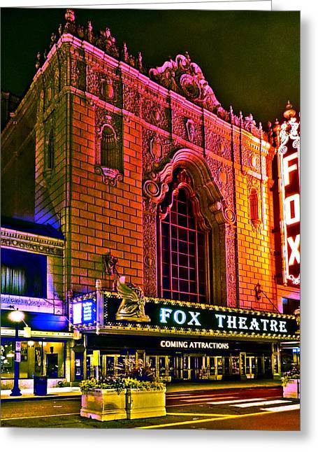 The Fabulous Fox In St. Louis Greeting Card