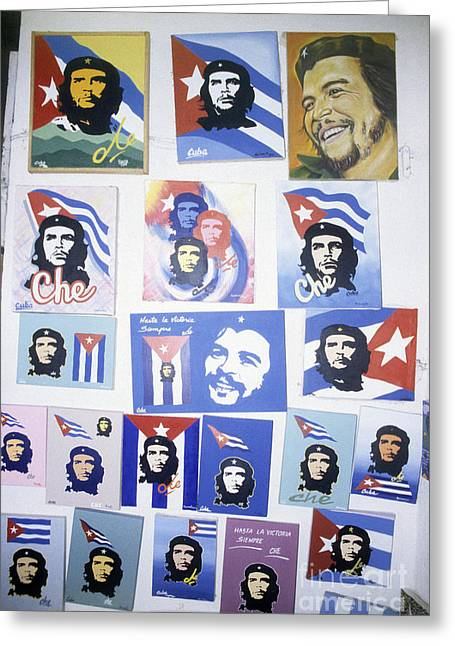 The Face Of Cuba Greeting Card
