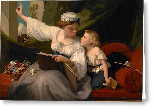 The Fairy Tale Greeting Card by James Sant