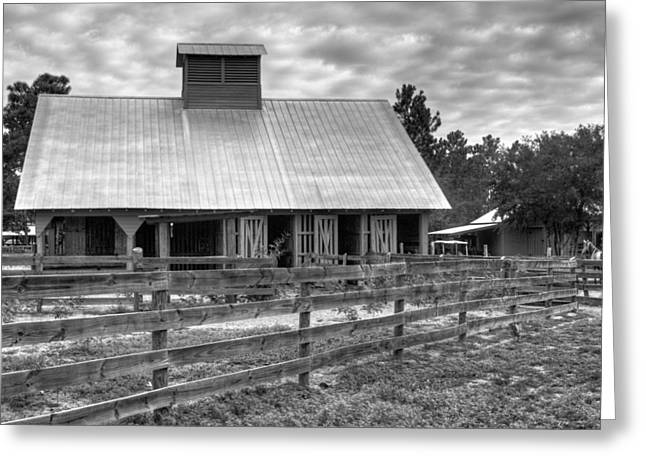 Greeting Card featuring the photograph The Farm by Dawn Currie