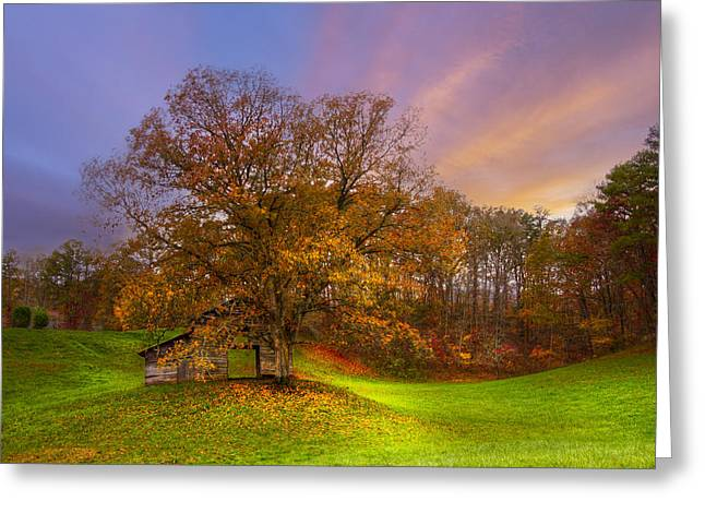 The Farm Greeting Card by Debra and Dave Vanderlaan