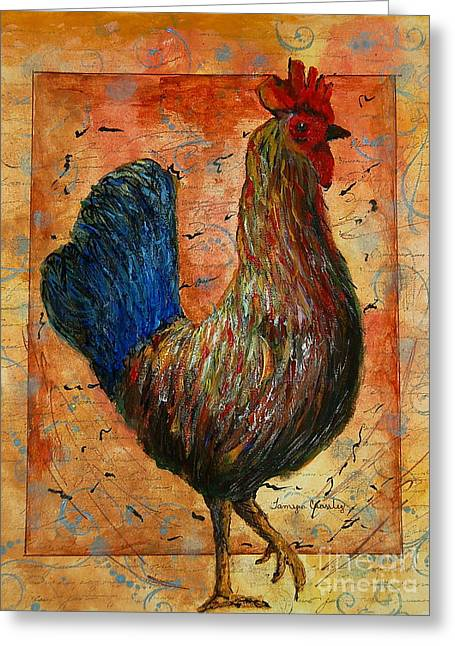 The Farm House Chicken Greeting Card