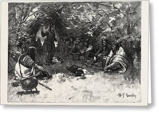 The Feast Of The White Dog, Canada Greeting Card