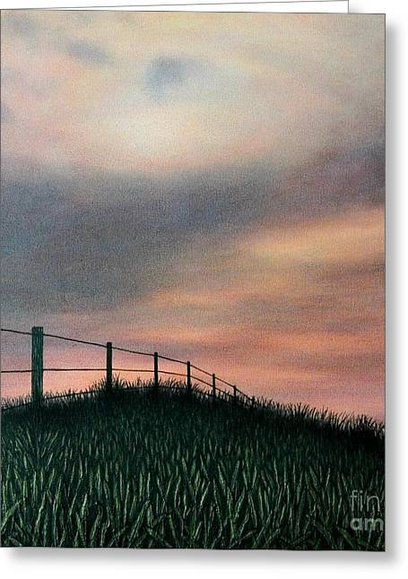 The Field Greeting Card by J Barth