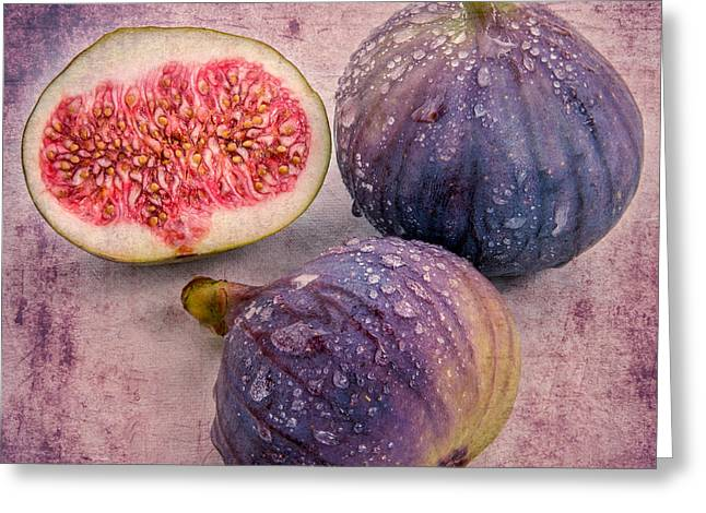 the fig II  Greeting Card by Hannes Cmarits
