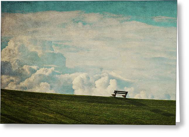The First Place To Heaven Greeting Card by Angela Doelling AD DESIGN Photo and PhotoArt