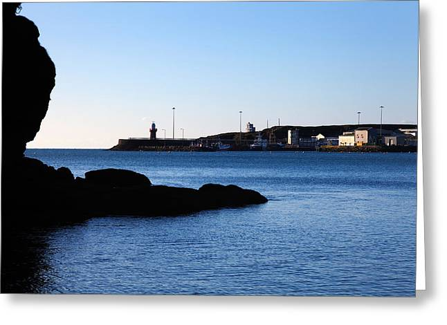 The Fishing Harbour, Dunmore East Greeting Card